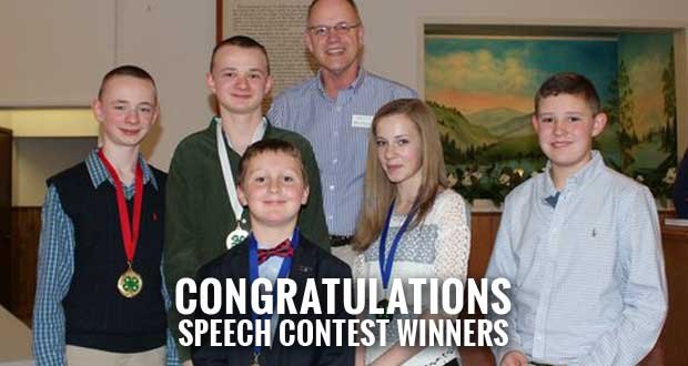 Sevier County 4-H Kids Win Honors at Public Speaking Contests