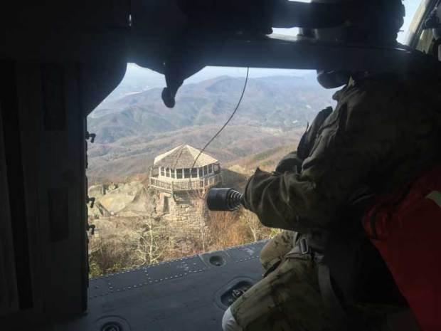 Tennessee Army National Guard Assists Rangers with Rescue