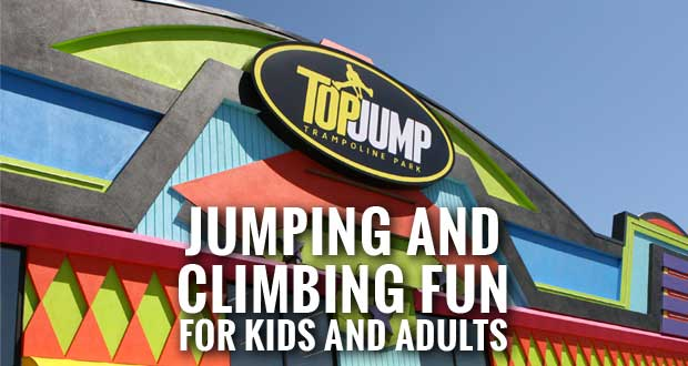 TopJump Trampoline Park Opens in Pigeon Forge