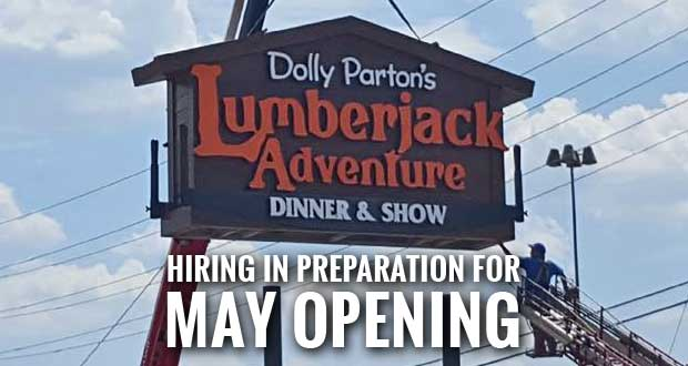 Lumberjack Adventure in Pigeon Forge Holding Job Fair