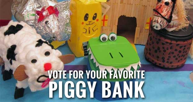 Sevier Kids' Piggy Banks Advance to Statewide Contest