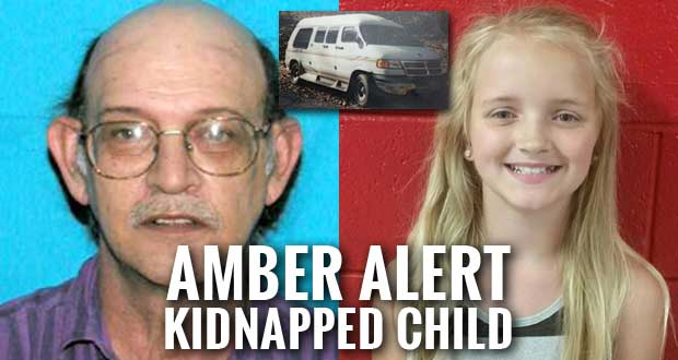 Carlie Trent AMBER Alert Subject may be Hiding in Rural Area, Campground or Park