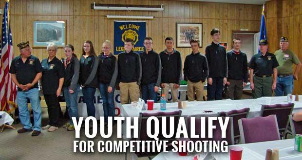American Legion Post 104 Presents Students of Junior Shooting Program