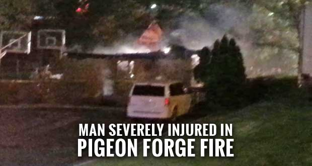 Pigeon Forge Hotel Desk Clerk Reports Fire, Alerts Residents