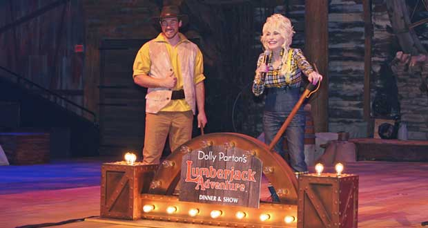 Lumberjack Adventure Show Offers High-Flying Acrobats, Moonshine Cocktails