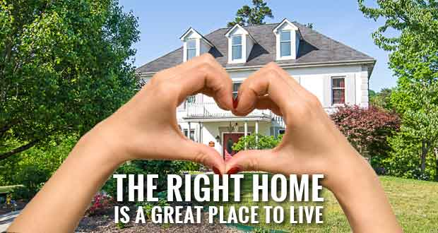 Finding the Right Home is NOT About Money