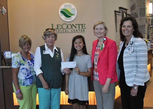Alexa Alana Awarded LeConte Medical Center Volunteer Scholarship