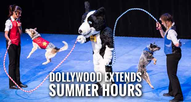 Fireworks, Magic and Stunt Dogs the Highlights of Summer at Dollywood