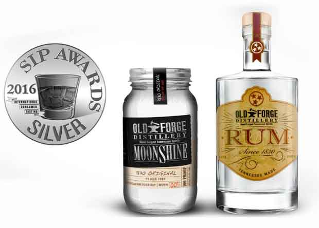 Old Forge Distillery Silver SIP Awards
