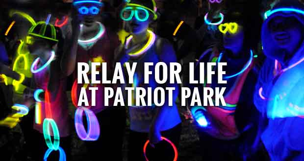 Relay for Life Kicks Off with Running Cancer Out of Town 5K Glow Run