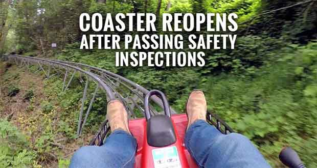 Regulators Clear Gatlinburg Mountain Coaster to Reopen after Accident
