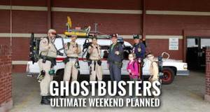 Ghostbusters Fans Gear Up for VIP Movie Premier, Paranormal Events