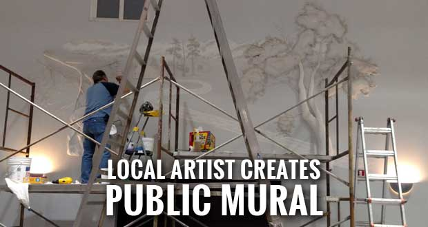 3D Plaster Mural to be Unveiled at Sevierville Civic Center