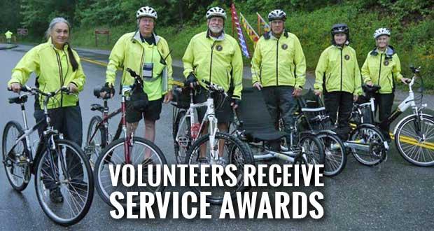 Smokies Volunteers Recognized for Outstanding Service