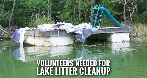 Inaugural Island Invasion Cleanup at Douglas Lake