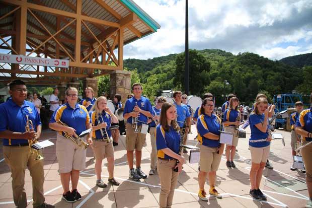 Gatlinburg Pittman High School Marching Band