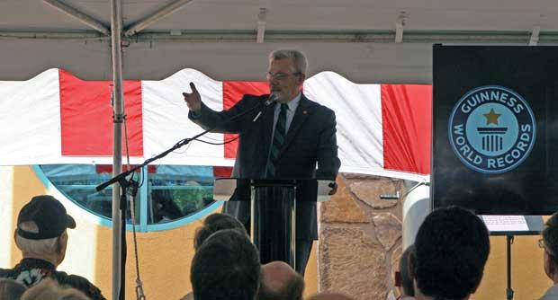 Tourist Development Commissioner Kevin Triplett