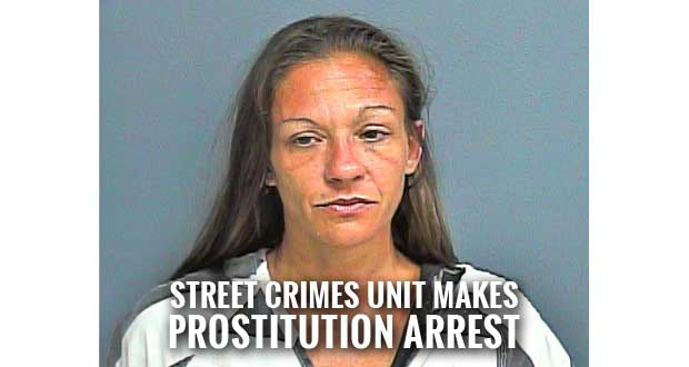 Florida Woman Charged with Prostitution in Sevierville