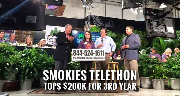 Telethon Donations to Fund Great Smoky Mountains National Park's Greatest Needs