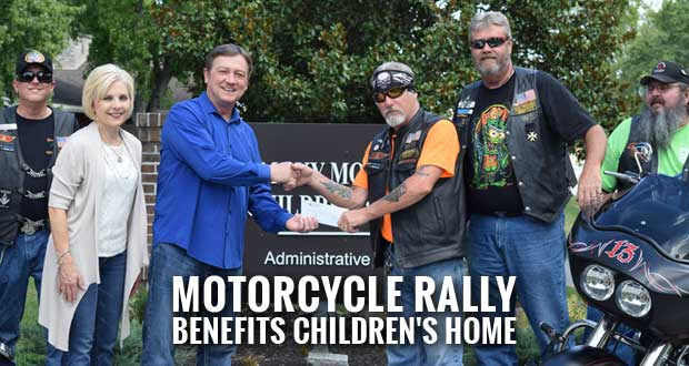 Widows Sons Motorcycle Riding Assoc. Raises Funds for Smoky Mountain Children's Home