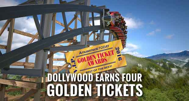 Dollywood Wins for Best New Ride, Shows, Friendliness