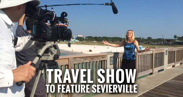 Family Travel with Colleen Kelly Filming Episode in Sevierville