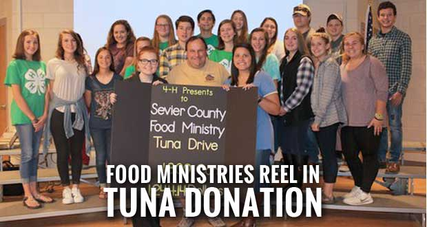 4-H Hooked on Helping Hunger Tuna Drive a Success