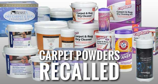 Carpet Cleaner Recall Due to Risk of Bacterial Infections