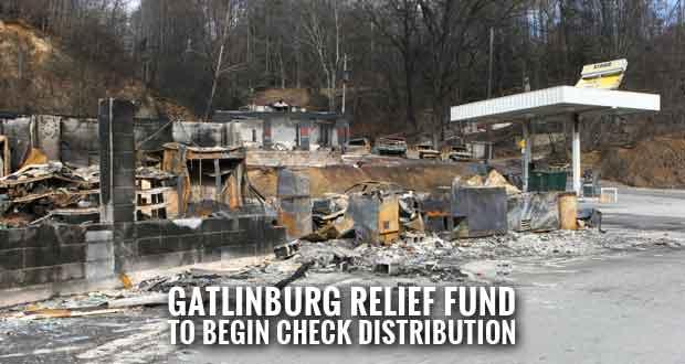 Gatlinburg Relief Fund Check Distribution