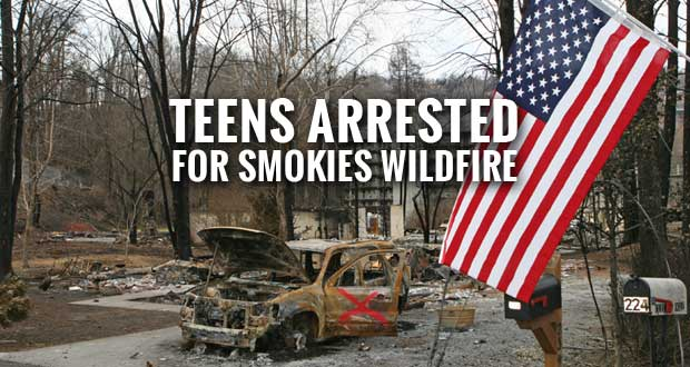 Two Juveniles Charged with Arson in Deadly Tennessee Wildfire