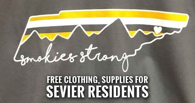 LeConte Distribution Center Closing, Offers Clothing & Supplies to Sevier Residents