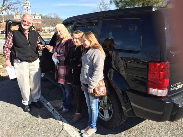 SMARM Gives Away Sixth Car to Wildfire Family