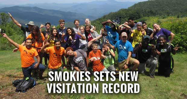 Great Smoky Mountains Sees Record Number of Visitors in 2016