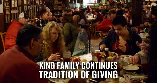 King Family Continues Tradition of Giving Ye Olde Steak House Hosts Smoky Mountain Children's Home Dinner
