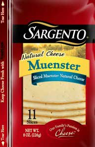 Sargento Muenster Sliced Cheese