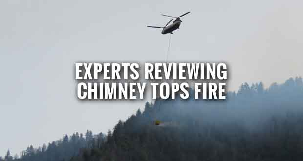 Team to Begin Chimney Tops 2 Fire Review in Smokies