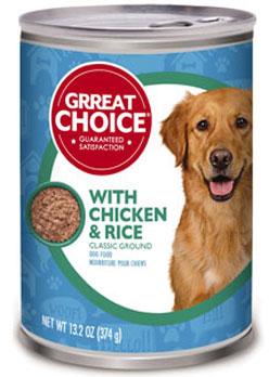 Grreat Choice Pet Foods Recalled