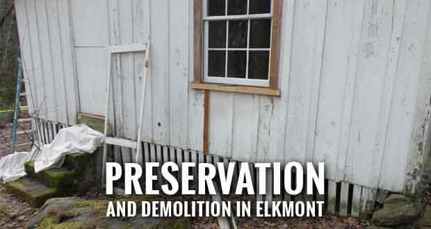 Park Begins Elkmont Historic District Work