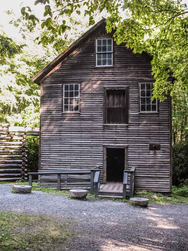Mingus Mill in Great Smoky Mountains National Park