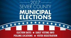 2017 Sevier County Municipal Election Calendar