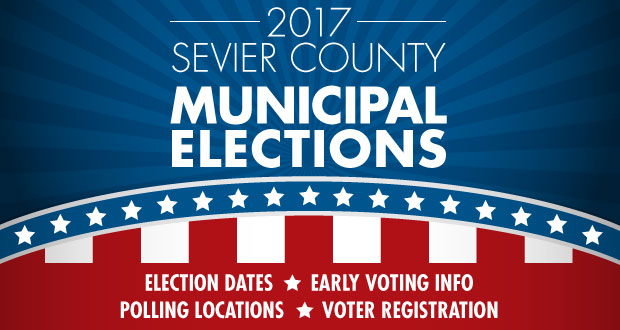 2017 Sevier County Municipal Election Calendar