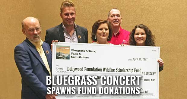 $128,000 Raised for Dollywood Wildfire Scholarship Fund