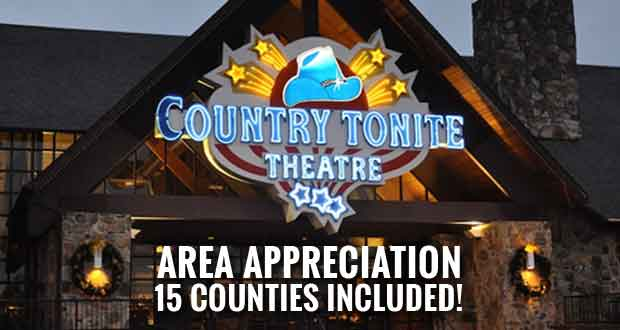 Country Tonite Offering Area Appreciation Days Special