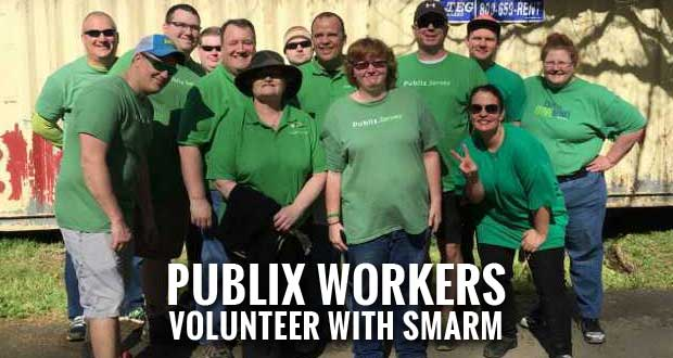 Pigeon Forge Publix Spends Annual Service Day with SMARM