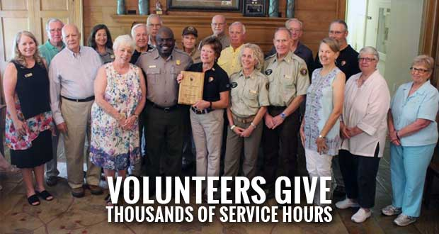 Park Volunteers Recognized with Southeast Regional Service Awards