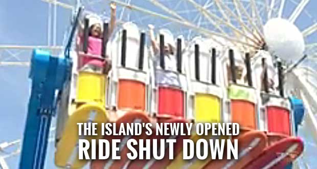 The Island Permanently Removing Wave Rider after Child Fell from Ride