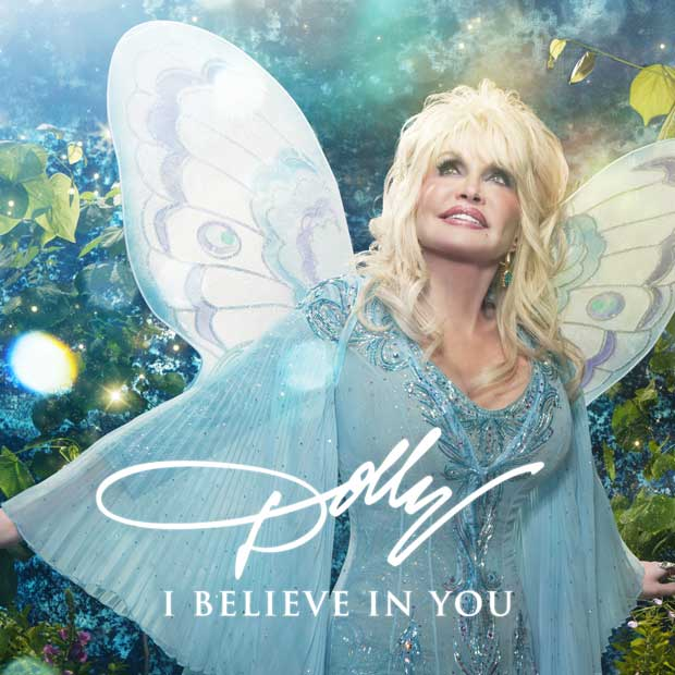 Dolly Parton's I Believe In You album cover.Dolly Parton's I Believe In You album cover.