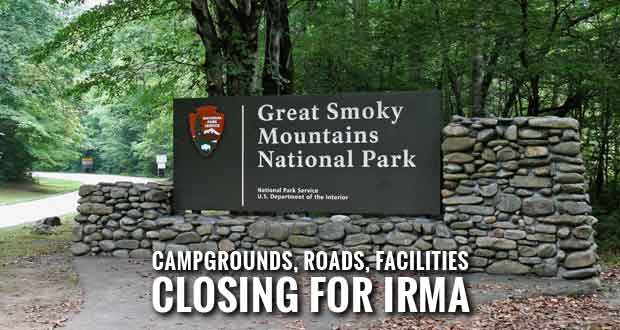 Smokies Announces Road, Facility Closures in Preparation for Hurricane Irma