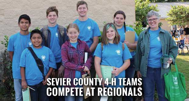Sevier County 4-H Members Bring Home Honors from Regional Competition