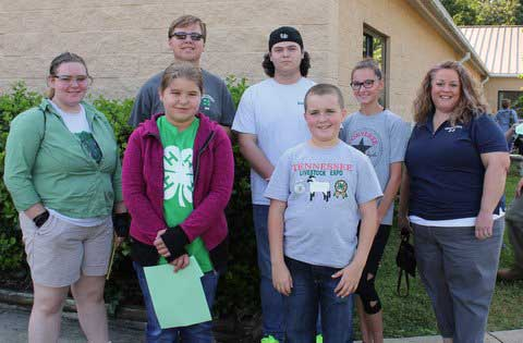 Sevier County 4-H Meats Judging team